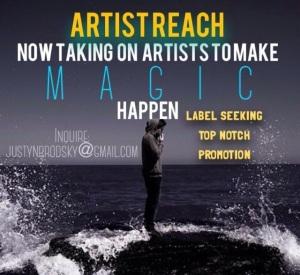 Inquire: justyn@artistreachofficial.com